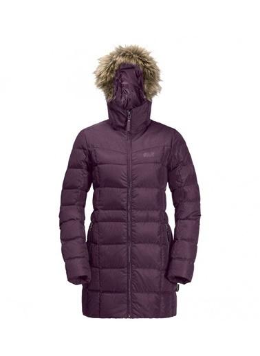 Jack Wolfskin Baffin Island Coat Down Kadın Ceket - 1203332-1600 Mor